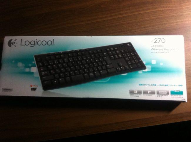 ロジクールのキーボード・K270
