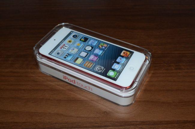iPod touch第5世代のピンク色を購入