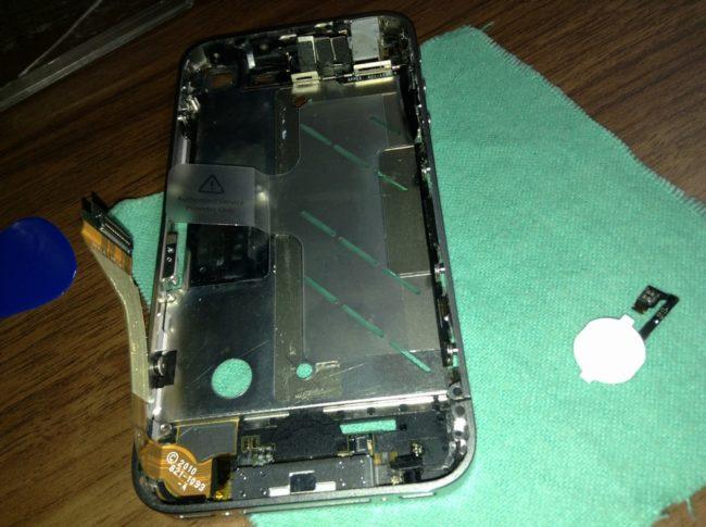 iPhone4を分解