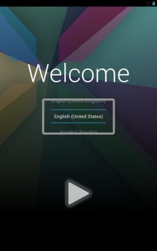ユーザーインターフェースの例
