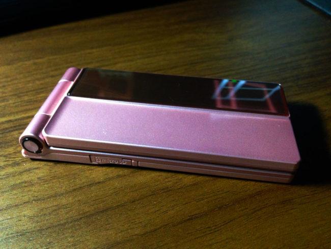 W62Pのキャンディッドピンク