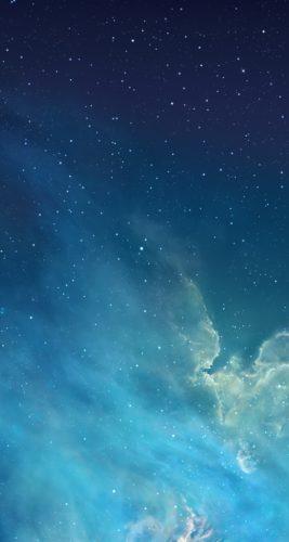 iOS7のデフォルト壁紙