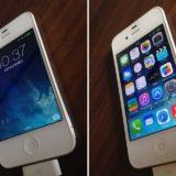 iPhone4にiOS7を入れた状態