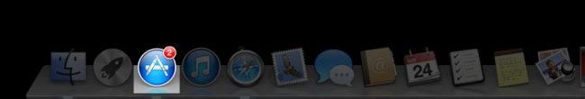 Mac App Storeのアップデート通知