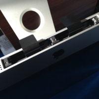 iMacの本体下部にあるメモリスロット
