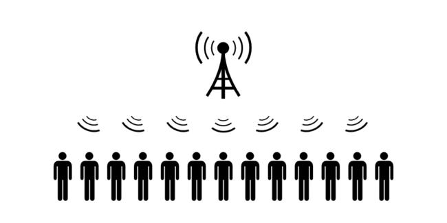 携帯電話の基地局