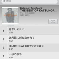 THE BEST OF KATSUNORI TAKAHASHI 1993~2000