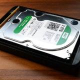 ハードディスクをセット