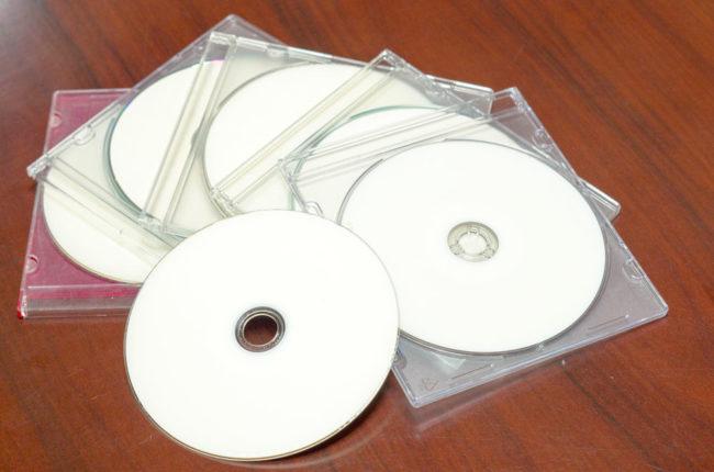 CD-Rのブランクディスク