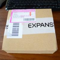 エクスパンシスの梱包