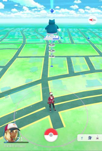 岡崎市のポケストップ分布